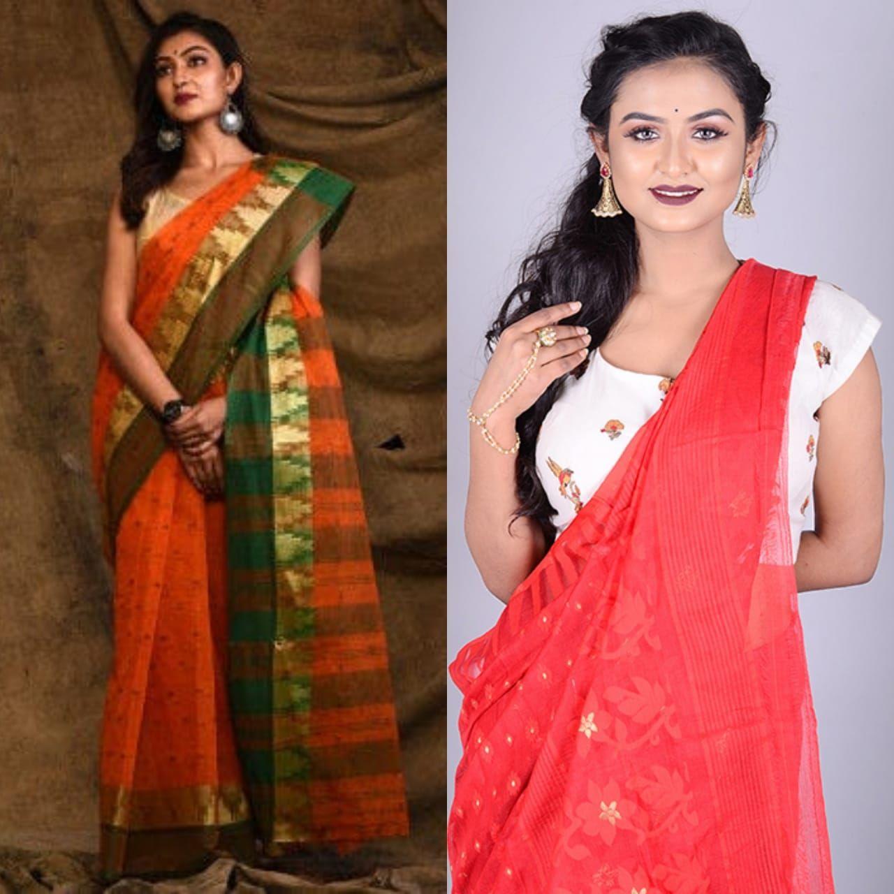Tant Bengali Sarees